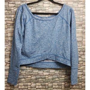 Zella crop top sweater